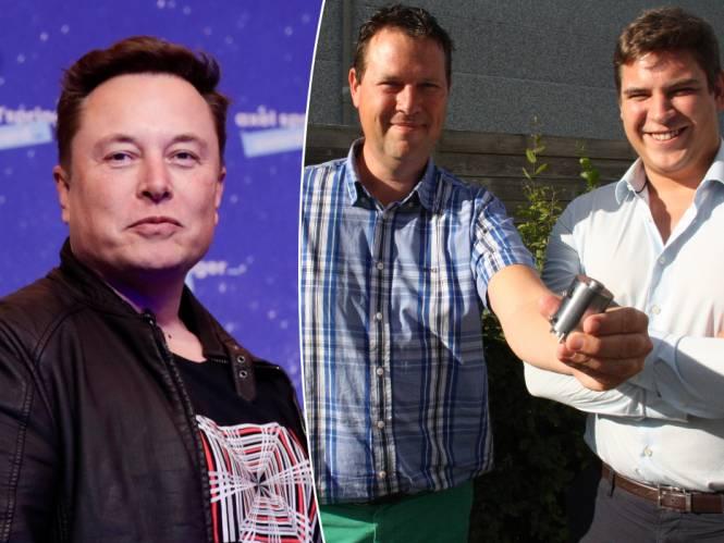 """""""Plots kregen we een mail van Elon Musk"""": Diksmuids bedrijf levert wereldprimeur aan SpaceX"""