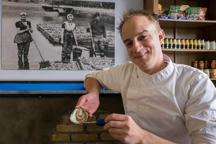 Joost Deurloo is voor de vierde keer de beste Nederlandse oestersteker.
