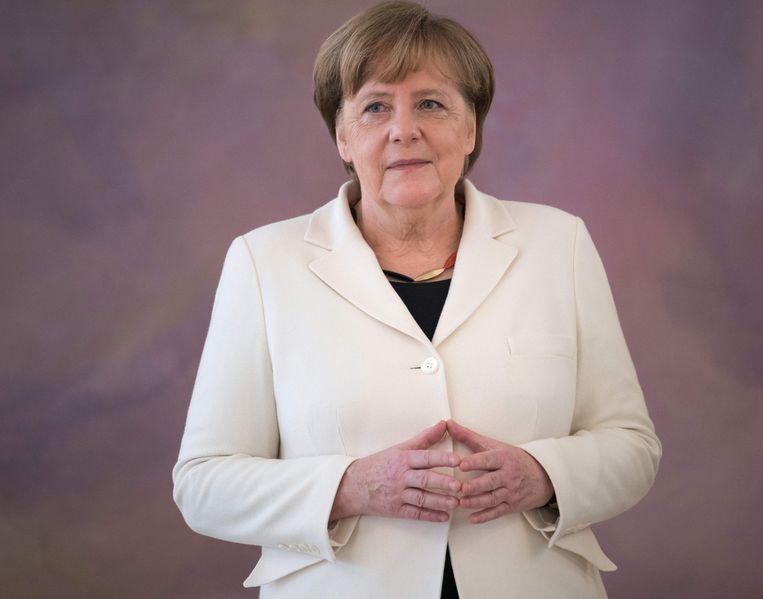Bondskanselier Angela Merkel. Beeld HH / AFP