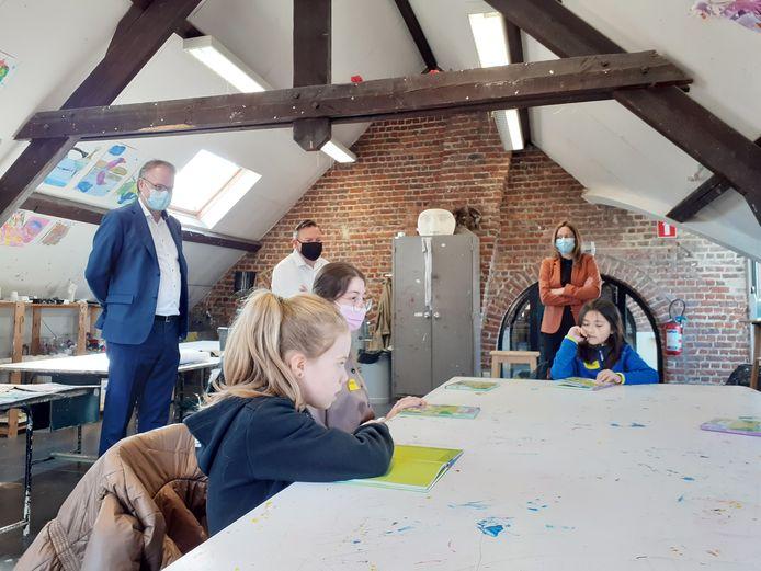 Het project Leeshelden werd enkele jaren geleden opgestart in Sint-Pieters-Leeuw.