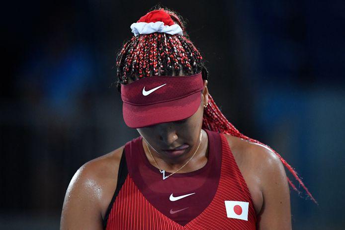 Le tournoi olympique s'arrête en huitième de finale pour Naomi Osaka.