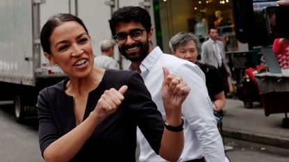 28-jarige linkse latina verslaat verrassend politiek kopstuk New York