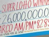 Lottowinnaar van 26 miljoen dollar vergeet biljet in de was