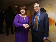 Schatrijke Bill Gates is in de hof - en hoofdstad