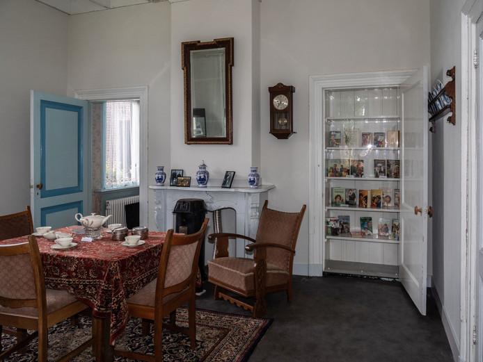 De Annie Oosterbroekkamer in het zuivelmuseum Erve IJzerman in Wapenveld.