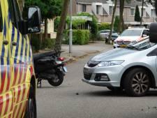 Scooterrijder lichtgewond bij aanrijding in Ede