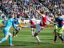 Zwak Ajax verliest in slotfase twee punten in Utrecht