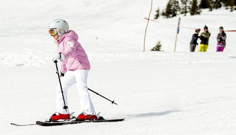 Skiën in Lech, februari 2015. Beeld anp