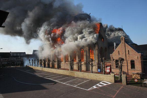 brand kerk westkapelle