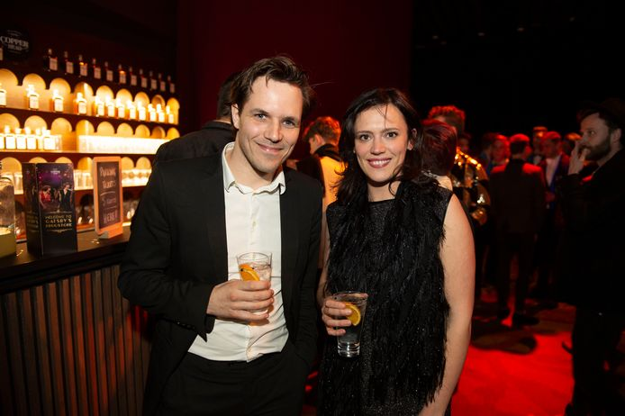 Marieke Dilles en vriend Andy