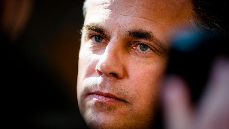 Staatssecretaris Mark Harbers van Justitie en Veiligheid (VVD) Beeld ANP