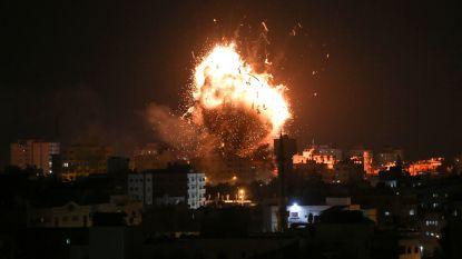 """Israël voert luchtaanvallen uit """"doorheen de Gazastrook"""""""