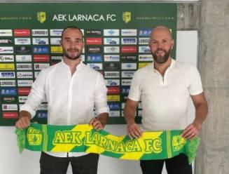 """Doelman Jens Teunckens (ex-Antwerp) blijft ambitieus na woelig eerste jaar bij Cypriotische eersteklasser Larnaca: """"Volgend seizoen wil ik nummer één zijn"""""""