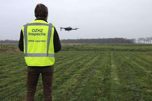 De kwekerij werd mede ontdekt dankzij een drone.