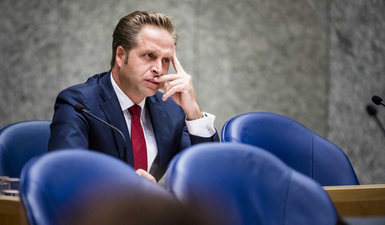 Minister Hugo de Jonge van Volksgezondheid, Welzijn en Sport (CDA) in de Tweede Kamer.