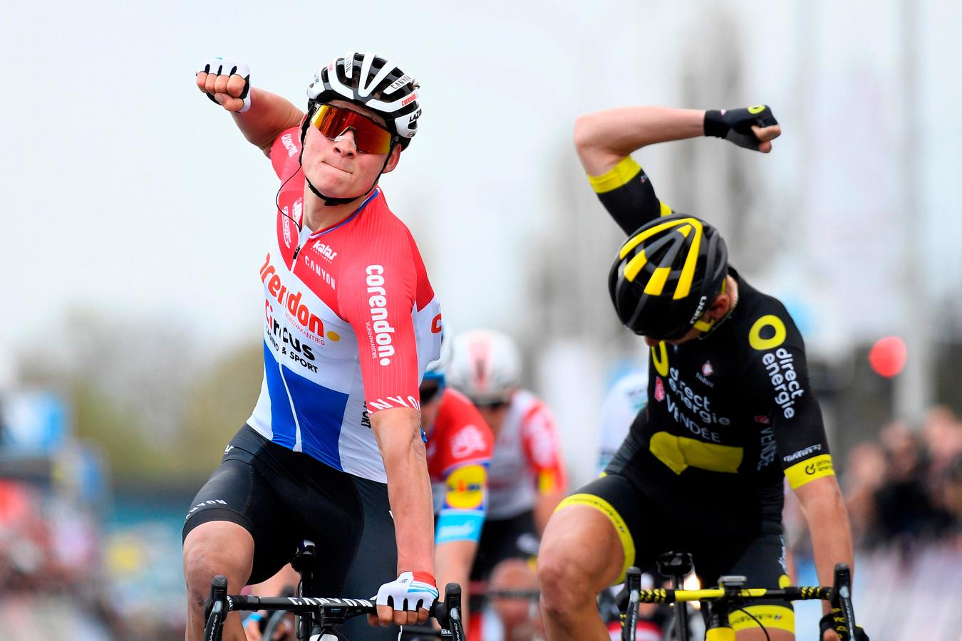 Mathieu van der Poel wint.