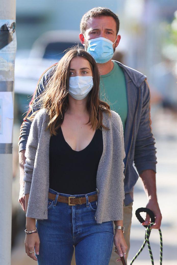 Ben Affleck et Ana de Armas en juillet 2020