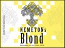 Nemeton's Blond. 7% Moutig blond met tonen van kandij, hintend naar abdijbieren uit de Belgische Westhoek.