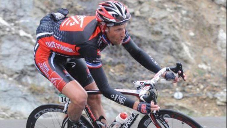 Christophe Moreau is met zijn 39 jaar ook de oudste deelnemer. Beeld UNKNOWN