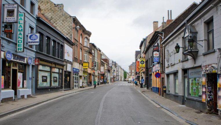De Gentse Overpoortstraat. Beeld Wikimedia Commons