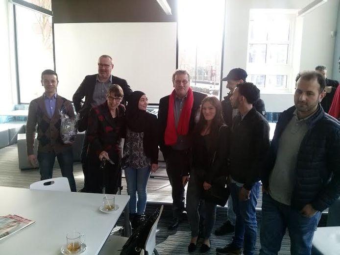 Staatssecretaris Jetta Klijnsma en de jongeren
