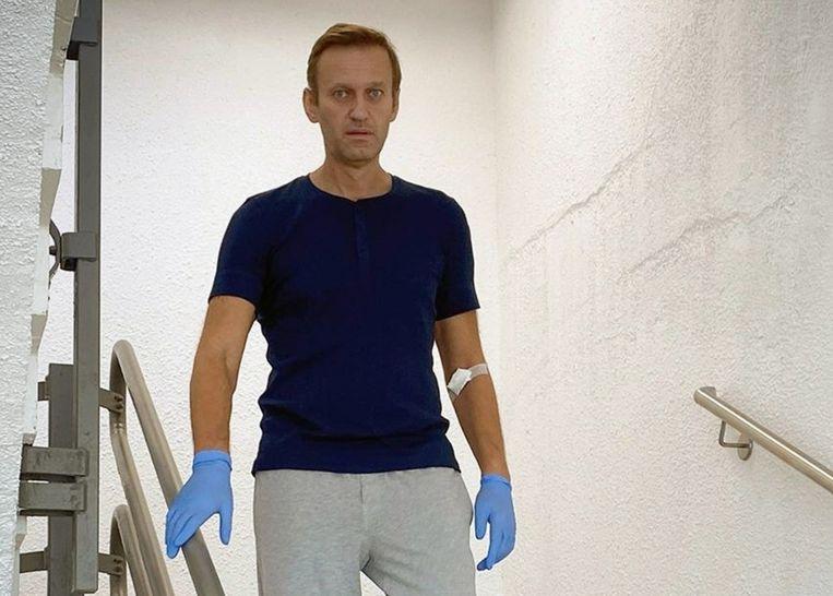 Natuurlijk moet je de aanslag op Aleksej Navalny (foto) veroordelen, maar ook de VS brengen doelbewust mensen om. Beeld