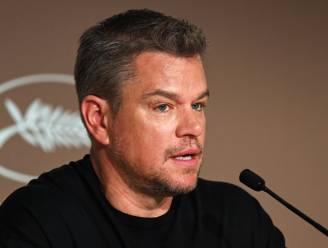 """Matt Damon licht uitspraken over homofoob taalgebruik toe: """"Nog nooit in mijn leven heb ik iemand een flikker genoemd"""""""