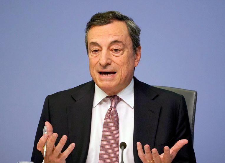 Tijdens zijn achtjarige mandaat stond Mario Draghi niet meteen bekend als een consensuszoeker. Beeld EPA