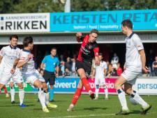 Frommelgoal HFC nekt De Treffers; ploeg mist aansluiting bij de top
