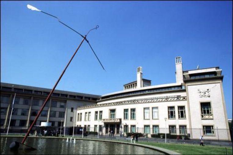 Het Internationaal Gerechtshof in Den Haag.