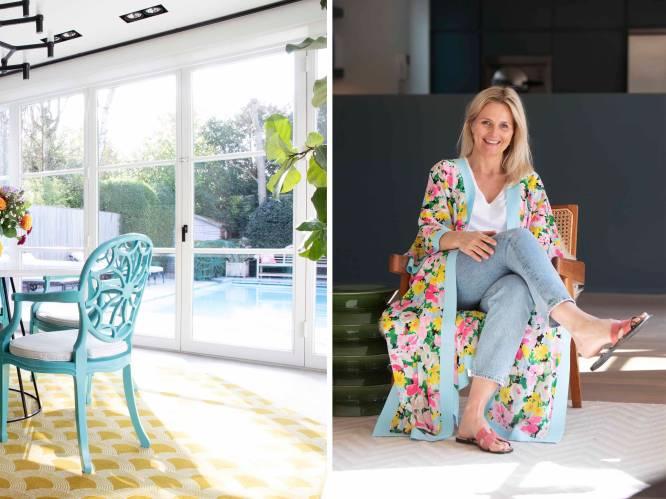 """Nathalie haar woning straalt vanbinnen pure vakantie uit: """"Op een zonnige dag droom ik soms een beetje weg naar Miami"""""""