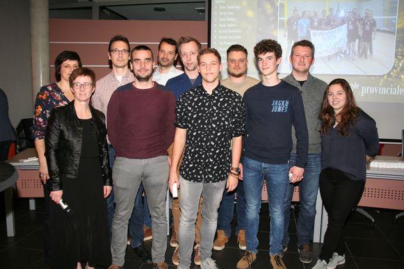 De volleybalclub werd gehuldigd in AC Den Molencouter.