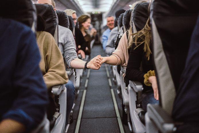 """Yolan Biemans: """"Ik had het gevoel alsof het vliegtuig elk moment kon afbreken en zou neerstorten."""""""