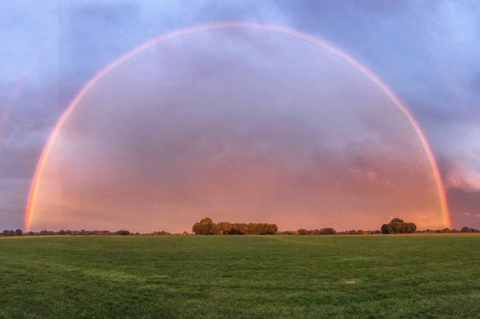 Bij wisselvallig weer is ook een regenboog niet uit te sluiten.