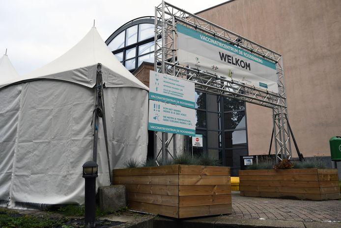 Het Vaccinatiecentrum De Roosenberg.