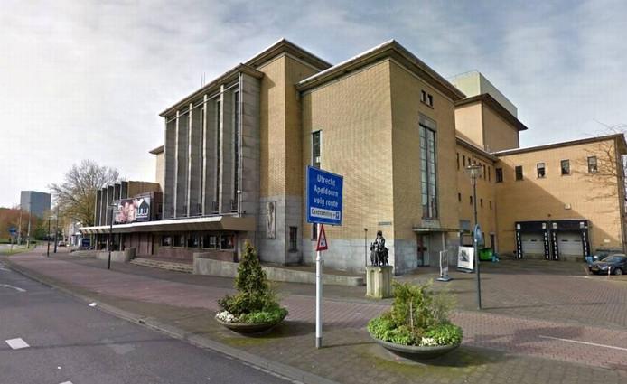 Stadstheater Arnhem op het Koningsplein.