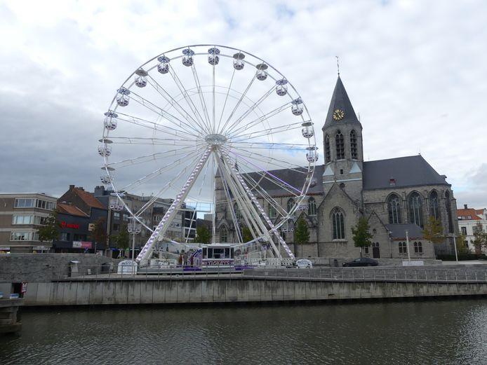 Het Skywheel in Deinze.