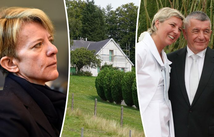 Ann Lawrence Durviaux (links), Nathalie Maillet en haar man Franz Dubois (rechts) © Photo News/BELGA/DH