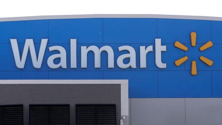 Een Walmart-supermarkt in Walpole, in de staat Massachusetts. Beeld AP