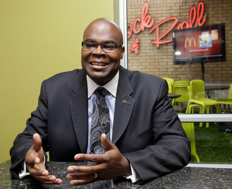 McDonald's-CEO Don Thompson. Beeld ap