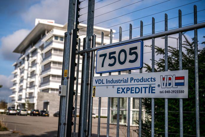 Het hoofdkantoor van VDL in Eindhoven. Het bedrijf is getroffen door een cyberaanval waardoor grote delen van de fabriek stil liggen.
