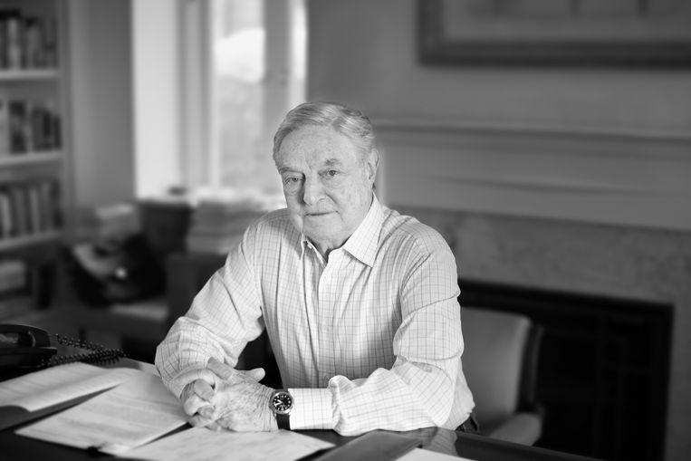 George Soros is filantroop, voorzitter van Soros Fund Management en de Open Society Foundations en is auteur van onder meer In Defense of Open Society. Beeld Myrna Suarez