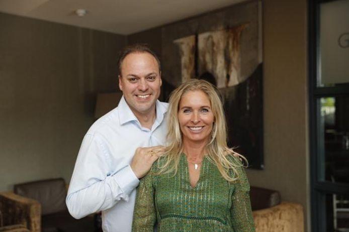 Frans Bauer met zijn partner Mariska