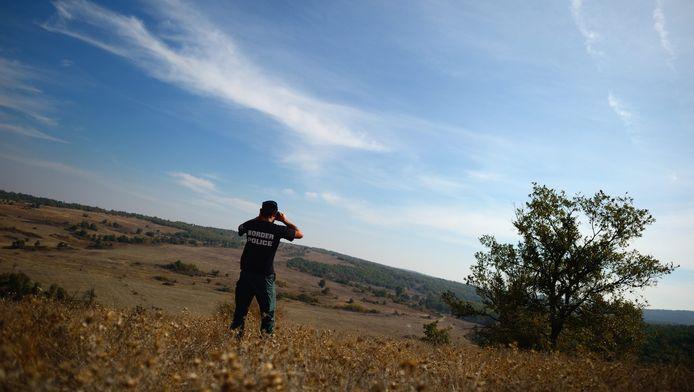 Archief: Een Bulgaarse agent bij de grens met Turkije