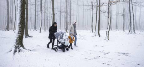 Veel sneeuwtoeristen beboet die ondanks waarschuwing naar Drielandenpunt gingen