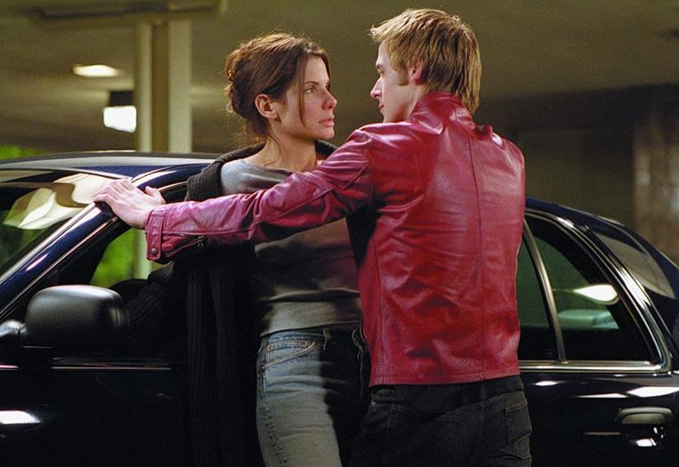 Sandra Bullock en Ryan Gosling in Murder by Numbers van Barbet Schroeder. Beeld