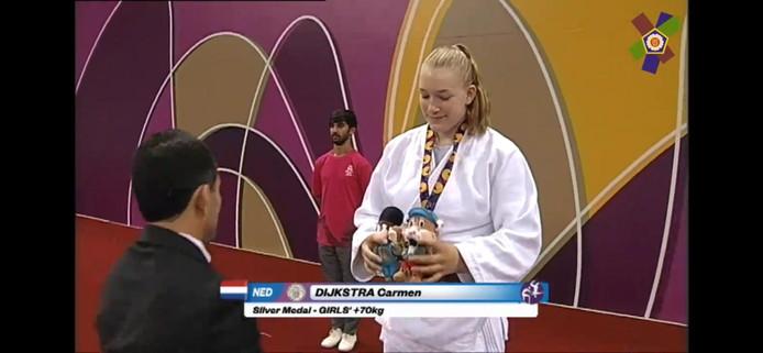 Carmen Dijkstra wint zilver in Baku op de Jeugd Olympische Spelen