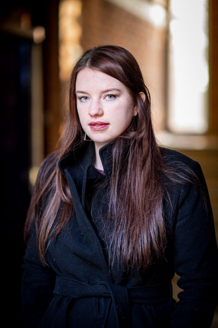 Maria (22), kind van donor K34. Beeld Linelle Deunk