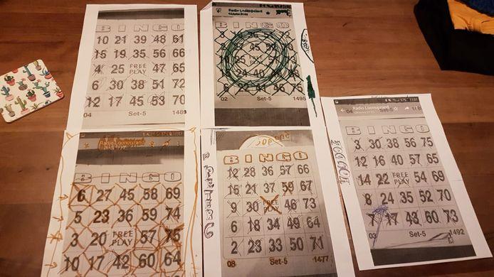 Senioren kunnen sinds deze week thuis meedoen aan de bingo.