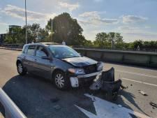Gewonden bij aanrijding tussen vier auto's in Nijmegen